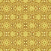 Gold vector seamless pattern for background — Stock Vector