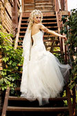 Fantastic beauty bride — Stock Photo