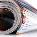 Magazine roll — Stock Photo
