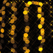 Gold spots bokeh background — Stock Photo