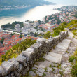 Panoramic view of Kotor , Montenegro - Stock Photo