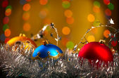 Christmas Decoration. Shallow focus — Stock fotografie