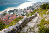 Panoramic view of Kotor , Montenegro — Stock Photo