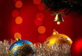 Christmas Decoration. Shallow focus — Stock Photo