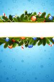 圣诞贺卡模板 — 图库矢量图片