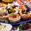 Stock Photo: Tapas collection