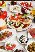 Tapas collection — Stock Photo