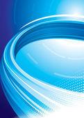 Technologie bleue — Vecteur
