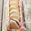Stock Photo: french macarons