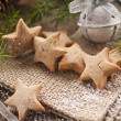 Honey star cookies — Stock Photo