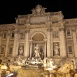 Italy. Rome. Fountain of Trevi at night — Stock Photo
