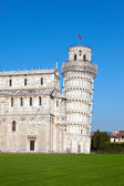 Italy. Pisa. The Leaning Tower of Pisa . — Stok fotoğraf