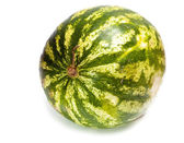 The big striped ripe water-melon — Stock Photo