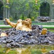Стоковое фото: Versailles. Fountain Enkelados (giant from Greek mythology.)