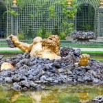 Versailles. Fountain Enkelados (the giant from the Greek mythology.) — Stock Photo