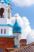 Pokrova Bozhiej Materi's orthodox church in Gatchina, Russia — Stock Photo