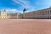 Na rússia, gatchina, parada antes o palácio — Foto Stock