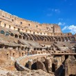 Italy. Rome. The ancient Collosseo - Stockfoto