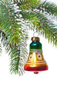 New Year's hand bell — Foto Stock