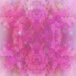Pastel floral border — Stock Photo