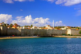 Greece. Rhodes. An ancient fortification round an old city — Стоковое фото