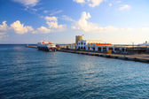 Greece. Harbor of Rhodos City — ストック写真