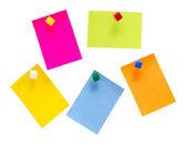 Χρώμα σημειώσεις — Φωτογραφία Αρχείου