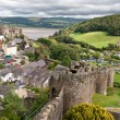 Conwy castle in Snowdonia, Wales — Stock Photo