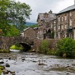 Village of Beddgelert in Snowdonia, Wales — Stock Photo #6915212