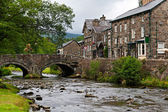 The village of Beddgelert in Snowdonia, Wales — Stock Photo