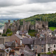 Conwy castle in Snowdonia, Wales — Stock Photo #6988308