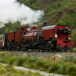 Stock Photo: Steam train in Snowdonia, Wales