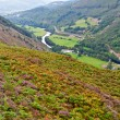 Stock Photo: Precipice walk in Snowdonia, Wales