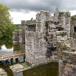 Beaumaris Castle in Anglesey, Wales, UK — Stock Photo