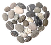 Pebble heart — Stock Photo