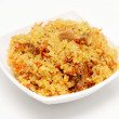 Pilau on plate — Stock Photo