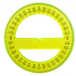 Stock Photo: Protractor