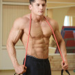 Stock Photo: Musculare male