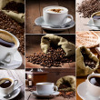 Coffee collage — Foto de stock #7760663