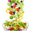 Fresh salad - Foto Stock