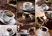 Collage de café — Foto de Stock