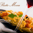 Stock Photo: Pasta menu picture 2