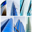 Building collage - Stock Photo