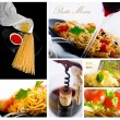 Stock Photo: Pasta collage 2