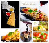 Pasta collage 2 — Stock Photo