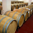 Winery barrels - Stock Photo