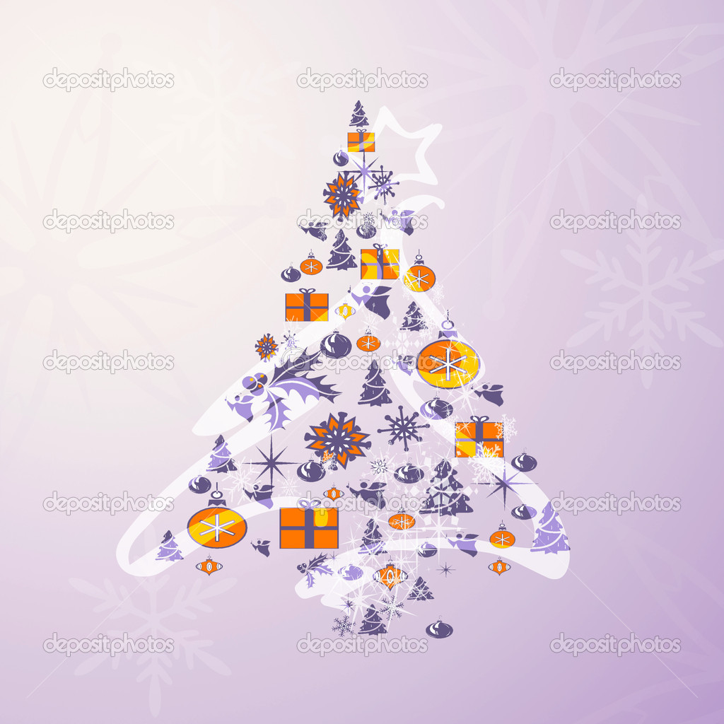 Christmas card background — Stock Photo #7599362