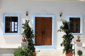 Zia vesnice na ostrově, dodecanese, řecko kos — Stock fotografie