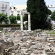 Ruins of ancient agoron Kos Island, Dodecanese — Stockfoto #7627864