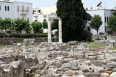 The ruins of the ancient agora on Kos Island, Dodecanese — Stock Photo